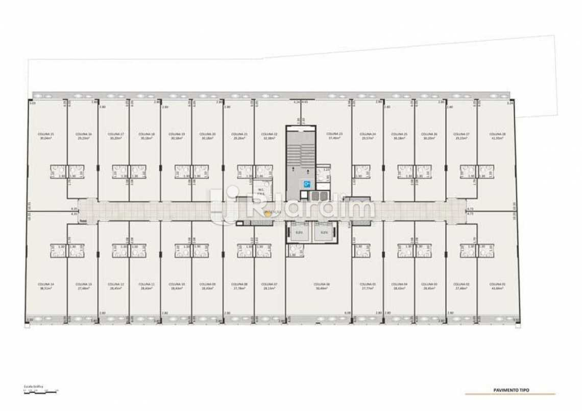 SALAS 3 AO 6 PAVIMENTO - Loja comercial À venda, Centro, Rio de Janeiro. - LALJ00127 - 17
