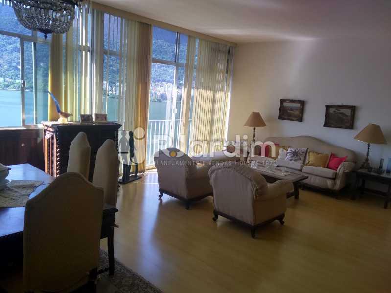 Sala - Apartamento Lagoa, Zona Sul,Rio de Janeiro, RJ À Venda, 3 Quartos, 140m² - LAAP31978 - 3