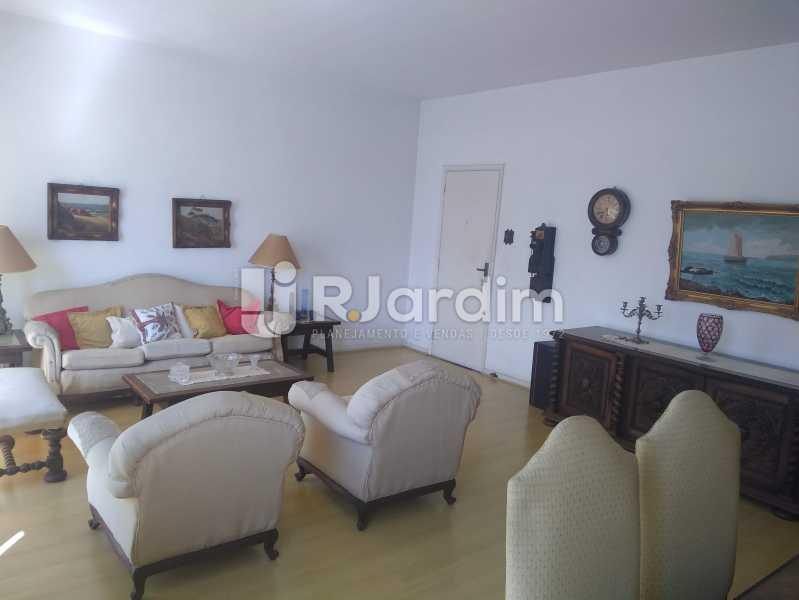 Sala - Apartamento Lagoa, Zona Sul,Rio de Janeiro, RJ À Venda, 3 Quartos, 140m² - LAAP31978 - 5