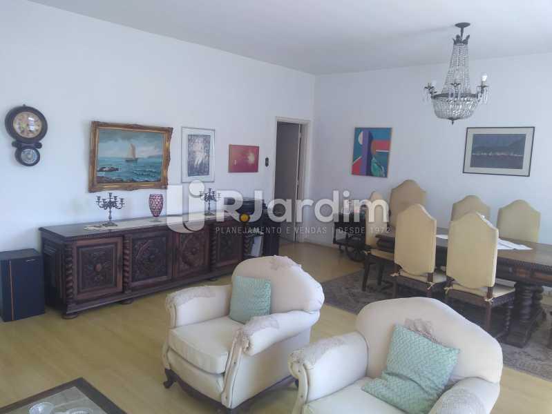 Sala - Apartamento Lagoa, Zona Sul,Rio de Janeiro, RJ À Venda, 3 Quartos, 140m² - LAAP31978 - 6
