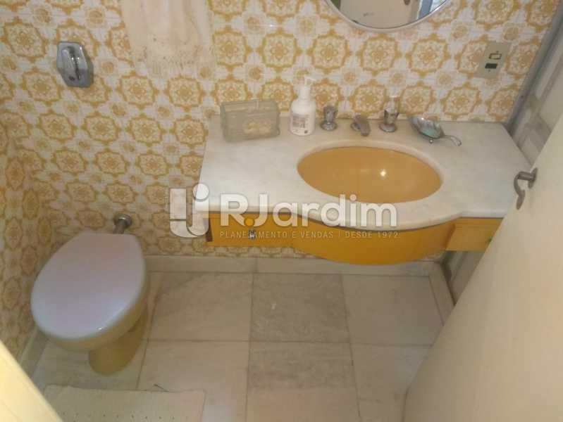 Banheiro Social - Apartamento Lagoa, Zona Sul,Rio de Janeiro, RJ À Venda, 3 Quartos, 140m² - LAAP31978 - 20
