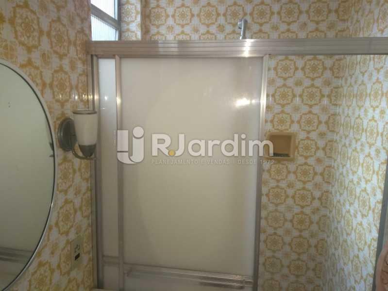 Banheiro Social - Apartamento Lagoa, Zona Sul,Rio de Janeiro, RJ À Venda, 3 Quartos, 140m² - LAAP31978 - 21
