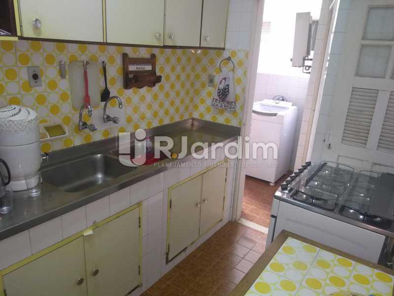 Cozinha - Apartamento Lagoa, Zona Sul,Rio de Janeiro, RJ À Venda, 3 Quartos, 140m² - LAAP31978 - 24