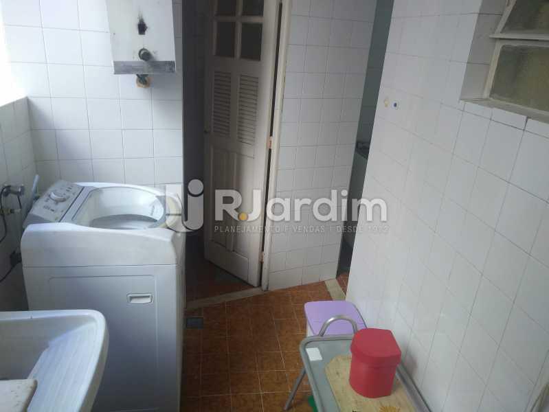 Área de Serviço - Apartamento Lagoa, Zona Sul,Rio de Janeiro, RJ À Venda, 3 Quartos, 140m² - LAAP31978 - 29