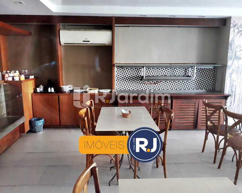 Espaço Gourmet - Aluguel Administração Imóveis Flat Residencial Humaitá 2 Quartos - LAFL20085 - 4