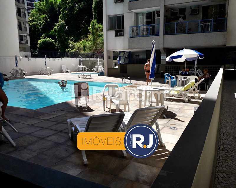 Piscina - Aluguel Administração Imóveis Flat Residencial Humaitá 2 Quartos - LAFL20085 - 6