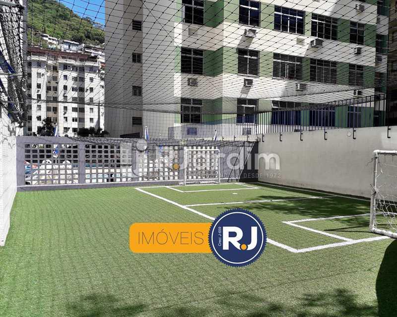 Quadra Poli Esportiva - Aluguel Administração Imóveis Flat Residencial Humaitá 2 Quartos - LAFL20085 - 11