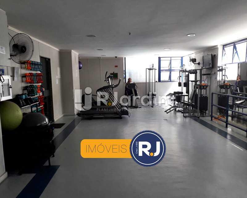 Sala De Musculação - Aluguel Administração Imóveis Flat Residencial Humaitá 2 Quartos - LAFL20085 - 12