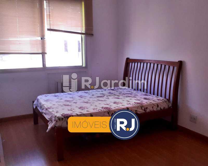 2° Quarto - Aluguel Administração Imóveis Flat Residencial Humaitá 2 Quartos - LAFL20085 - 16