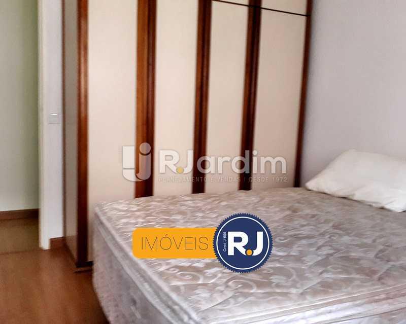 1° Quarto - Aluguel Administração Imóveis Flat Residencial Humaitá 2 Quartos - LAFL20085 - 15