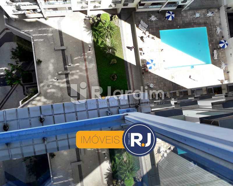 Vista Varanda Sol Manhã - Aluguel Administração Imóveis Flat Residencial Humaitá 2 Quartos - LAFL20085 - 28