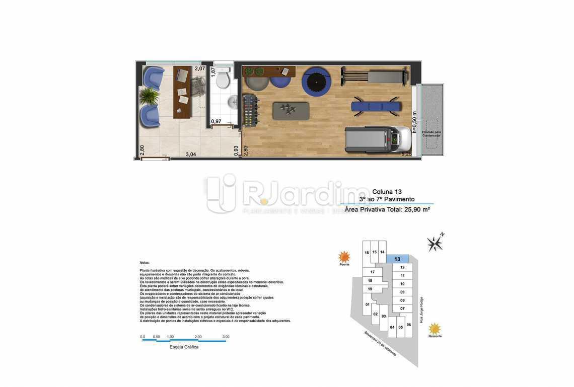 BOULEVARD - Sala Comercial Vila Isabel, Zona Norte - Grande Tijuca,Rio de Janeiro, RJ À Venda, 22m² - LASL00191 - 3