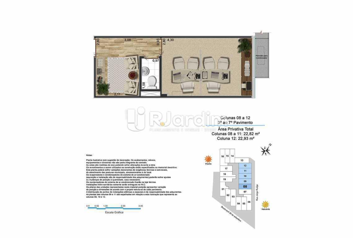 BOULEVARD - Sala Comercial Vila Isabel, Zona Norte - Grande Tijuca,Rio de Janeiro, RJ À Venda, 22m² - LASL00191 - 4