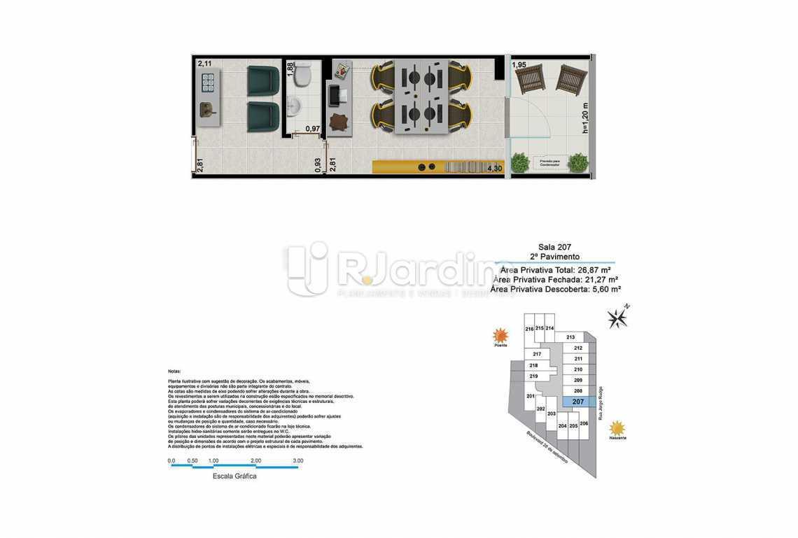 BOULEVARD - Sala Comercial Vila Isabel, Zona Norte - Grande Tijuca,Rio de Janeiro, RJ À Venda, 22m² - LASL00191 - 9