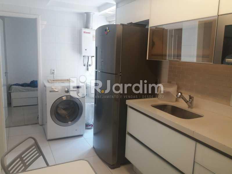 Cozinha, área - Cobertura à venda Rua Baronesa de Poconé,Lagoa, Zona Sul,Rio de Janeiro - R$ 2.530.000 - LACO30264 - 26