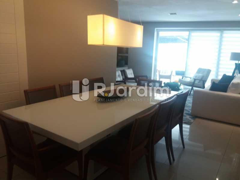 Sala jantar - Cobertura à venda Rua Baronesa de Poconé,Lagoa, Zona Sul,Rio de Janeiro - R$ 2.530.000 - LACO30264 - 5