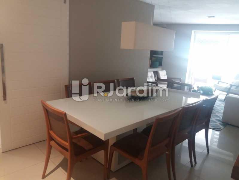 Sala jantar - Cobertura à venda Rua Baronesa de Poconé,Lagoa, Zona Sul,Rio de Janeiro - R$ 2.530.000 - LACO30264 - 20