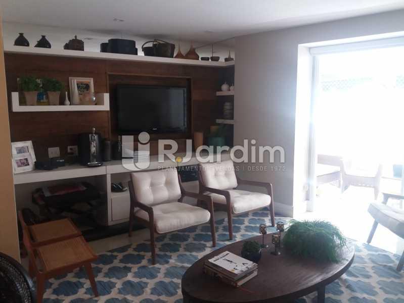Living - Cobertura à venda Rua Baronesa de Poconé,Lagoa, Zona Sul,Rio de Janeiro - R$ 2.530.000 - LACO30264 - 3