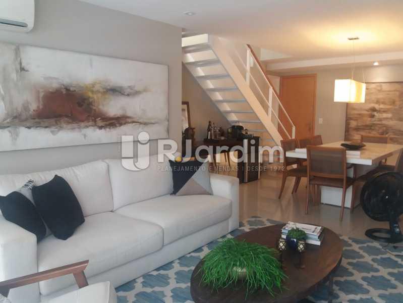 Living - Cobertura à venda Rua Baronesa de Poconé,Lagoa, Zona Sul,Rio de Janeiro - R$ 2.530.000 - LACO30264 - 1