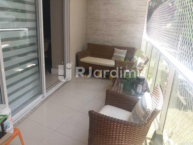 Varanda - Cobertura à venda Rua Baronesa de Poconé,Lagoa, Zona Sul,Rio de Janeiro - R$ 2.530.000 - LACO30264 - 21