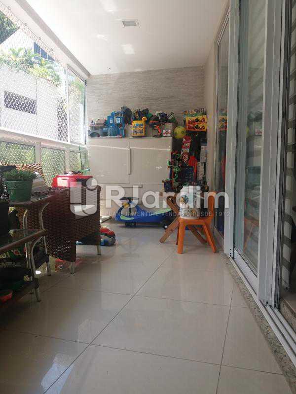 Varanda - Cobertura à venda Rua Baronesa de Poconé,Lagoa, Zona Sul,Rio de Janeiro - R$ 2.530.000 - LACO30264 - 22