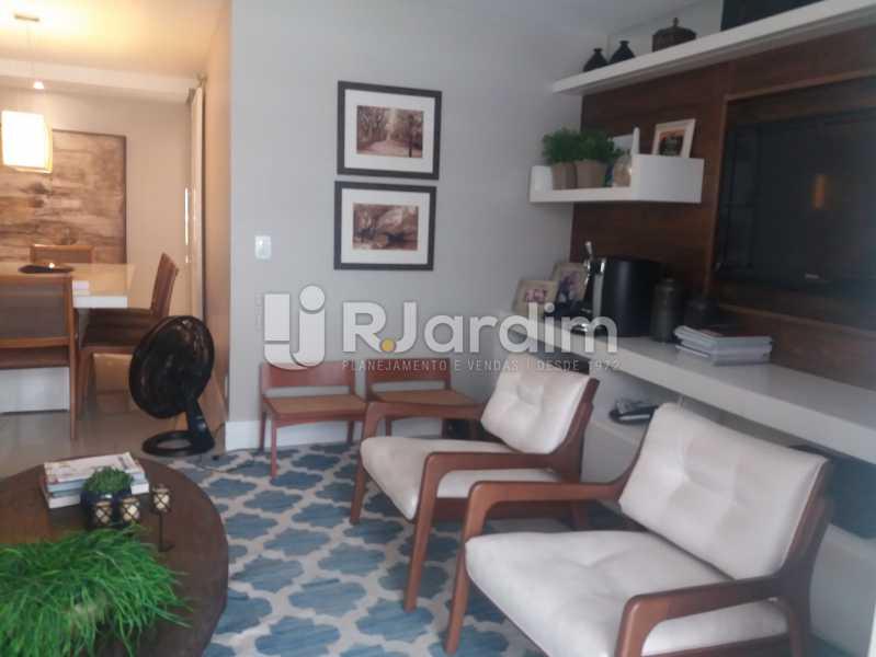 Living - Cobertura à venda Rua Baronesa de Poconé,Lagoa, Zona Sul,Rio de Janeiro - R$ 2.530.000 - LACO30264 - 4