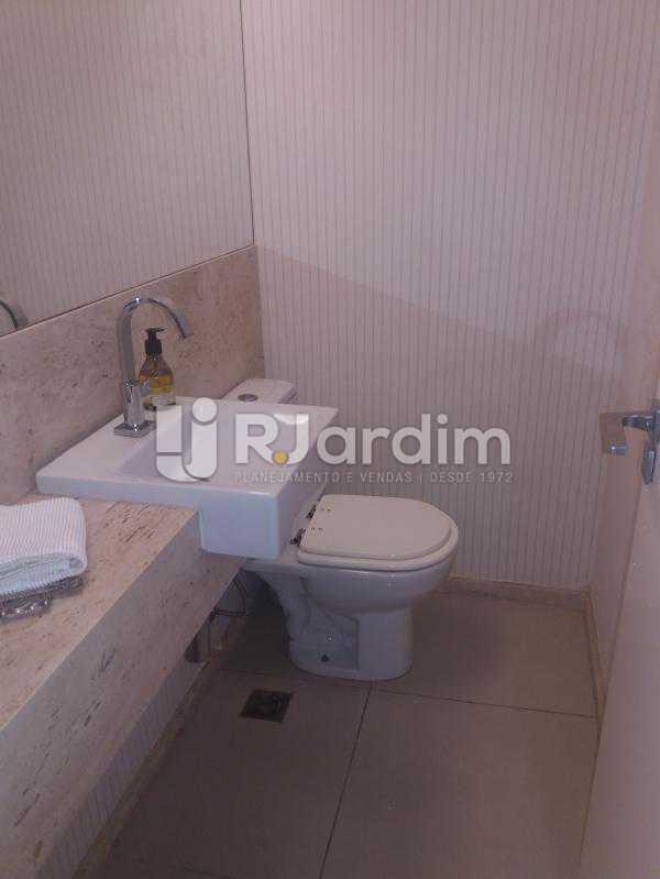 Banheiro social - Cobertura à venda Rua Baronesa de Poconé,Lagoa, Zona Sul,Rio de Janeiro - R$ 2.530.000 - LACO30264 - 27