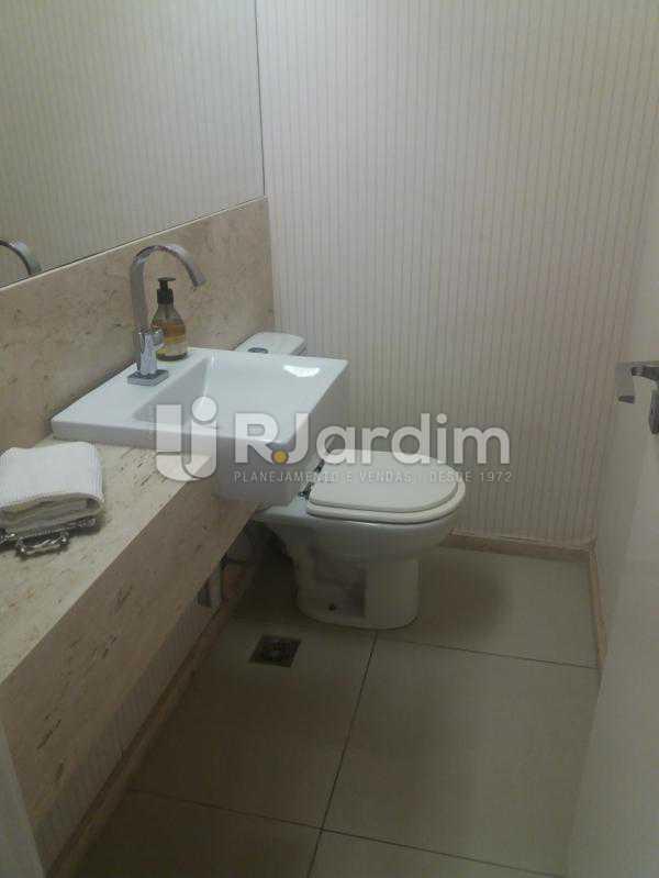 Banheiro social - Cobertura à venda Rua Baronesa de Poconé,Lagoa, Zona Sul,Rio de Janeiro - R$ 2.530.000 - LACO30264 - 12