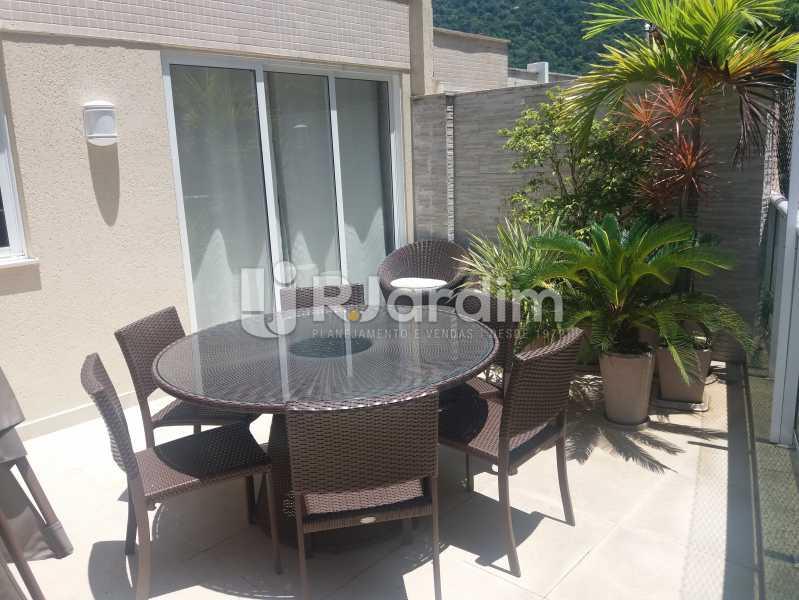 terraço - Cobertura à venda Rua Baronesa de Poconé,Lagoa, Zona Sul,Rio de Janeiro - R$ 2.530.000 - LACO30264 - 9