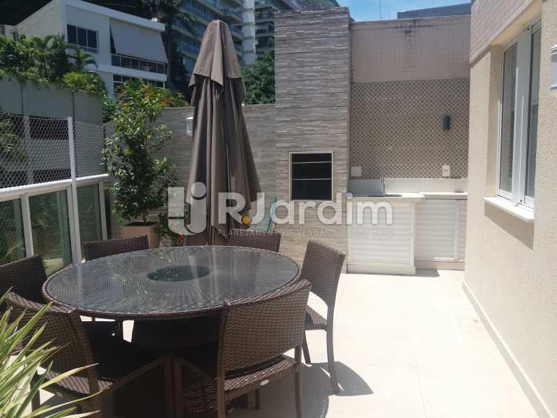 Terraço - Cobertura à venda Rua Baronesa de Poconé,Lagoa, Zona Sul,Rio de Janeiro - R$ 2.530.000 - LACO30264 - 30