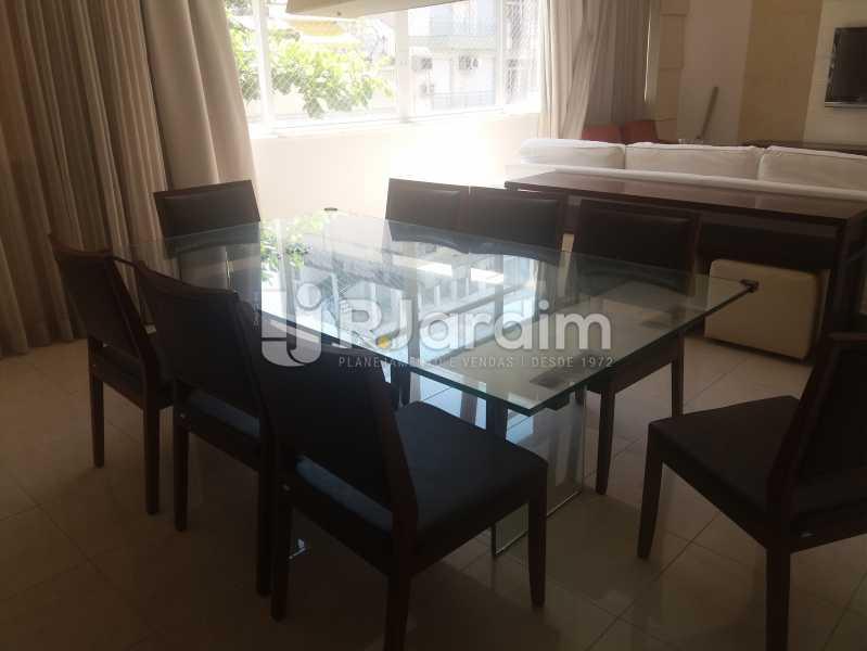 Sala jantar - Apartamento À Venda - Leblon - Rio de Janeiro - RJ - LAAP31984 - 20