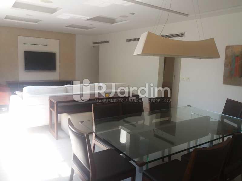 Sala jantar e estar - Apartamento À Venda - Leblon - Rio de Janeiro - RJ - LAAP31984 - 4