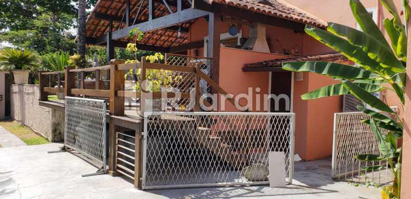 área gourmet / banheiro  - Compra Venda Casa Residencial Freguesia (Jacarepaguá) 4 Quartos - LACN40017 - 6
