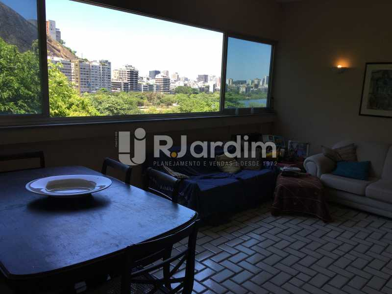 Sala estar e Jantar - Apartamento À Venda - Lagoa - Rio de Janeiro - RJ - LAAP40746 - 8