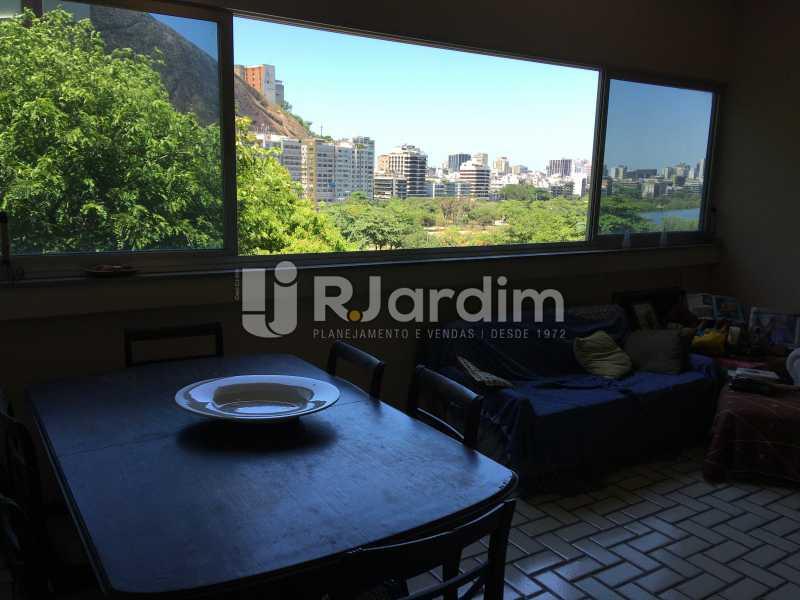 Sala de estar e jantar - Apartamento À Venda - Lagoa - Rio de Janeiro - RJ - LAAP40746 - 11