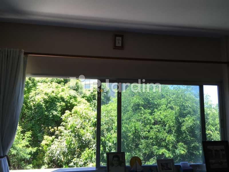 Vista quarto 3 - Apartamento À Venda - Lagoa - Rio de Janeiro - RJ - LAAP40746 - 22