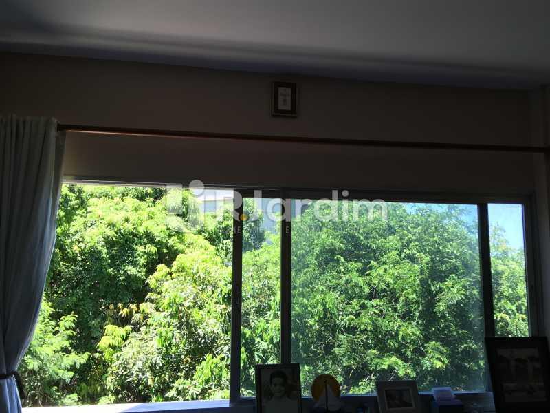 Vista quarto 3 - Apartamento À Venda - Lagoa - Rio de Janeiro - RJ - LAAP40746 - 24