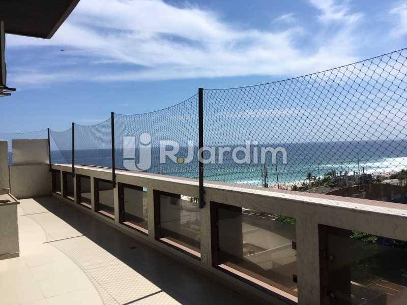 Varanda - Compra Venda Avaliação Imóveis Apartamento Barra da Tijuca 4 Quartos - LAAP40748 - 11