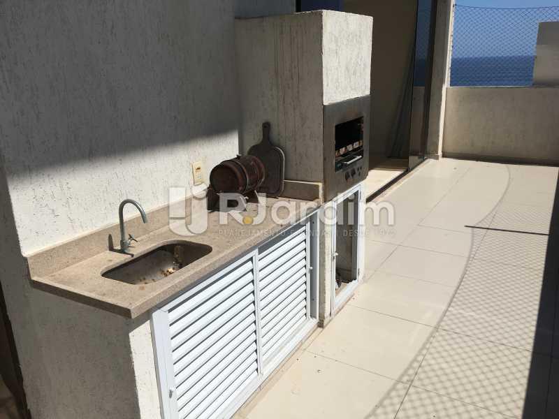 Varanda - Compra Venda Avaliação Imóveis Apartamento Barra da Tijuca 4 Quartos - LAAP40748 - 12