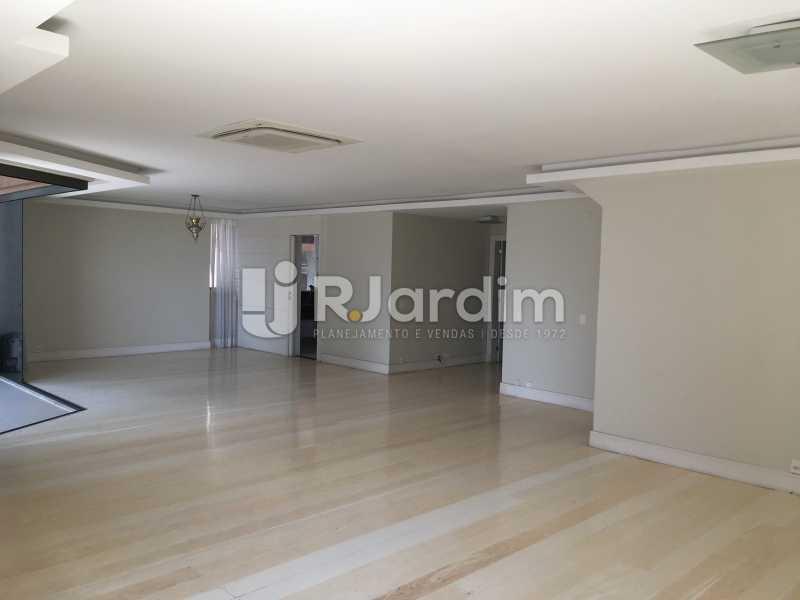Salão - Compra Venda Avaliação Imóveis Apartamento Barra da Tijuca 4 Quartos - LAAP40748 - 3
