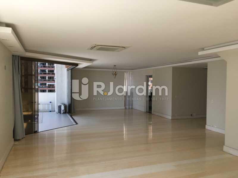 Salão - Compra Venda Avaliação Imóveis Apartamento Barra da Tijuca 4 Quartos - LAAP40748 - 4