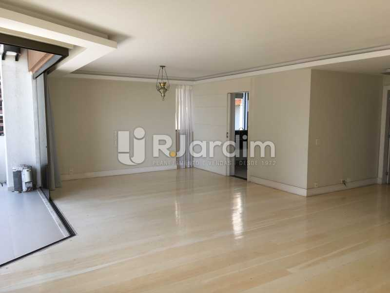 Salão - Compra Venda Avaliação Imóveis Apartamento Barra da Tijuca 4 Quartos - LAAP40748 - 8