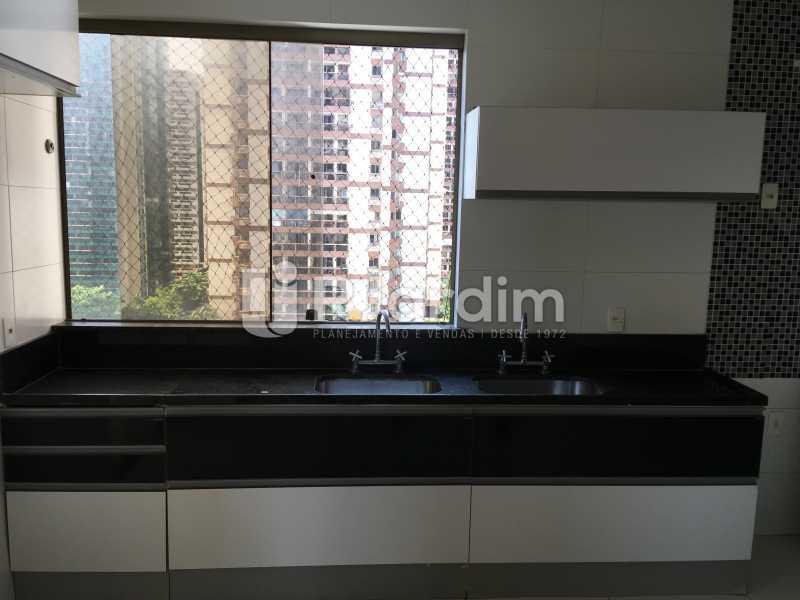 Cozinha - Compra Venda Avaliação Imóveis Apartamento Barra da Tijuca 4 Quartos - LAAP40748 - 18