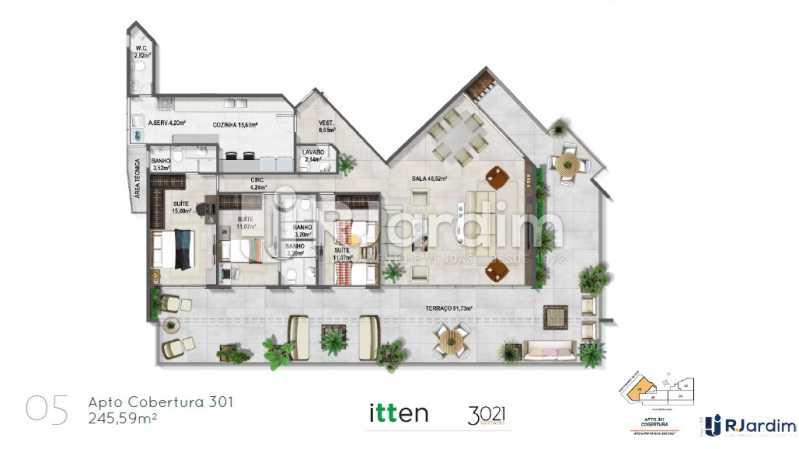 planta05 - Apartamento 2 quartos à venda Barra da Tijuca, Zona Oeste - Barra e Adjacentes,Rio de Janeiro - R$ 902.783 - LAAP21407 - 6