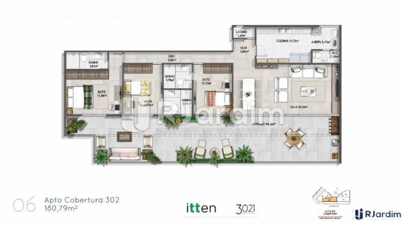 planta06 - Apartamento 2 quartos à venda Barra da Tijuca, Zona Oeste - Barra e Adjacentes,Rio de Janeiro - R$ 902.783 - LAAP21407 - 7