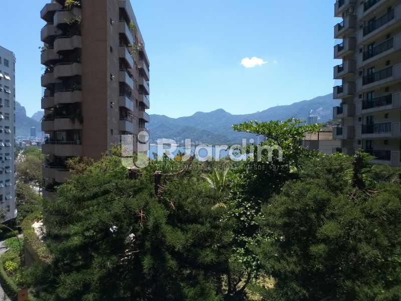 vista / salão de festas  - Apartamento À Venda - Lagoa - Rio de Janeiro - RJ - LAAP31999 - 3