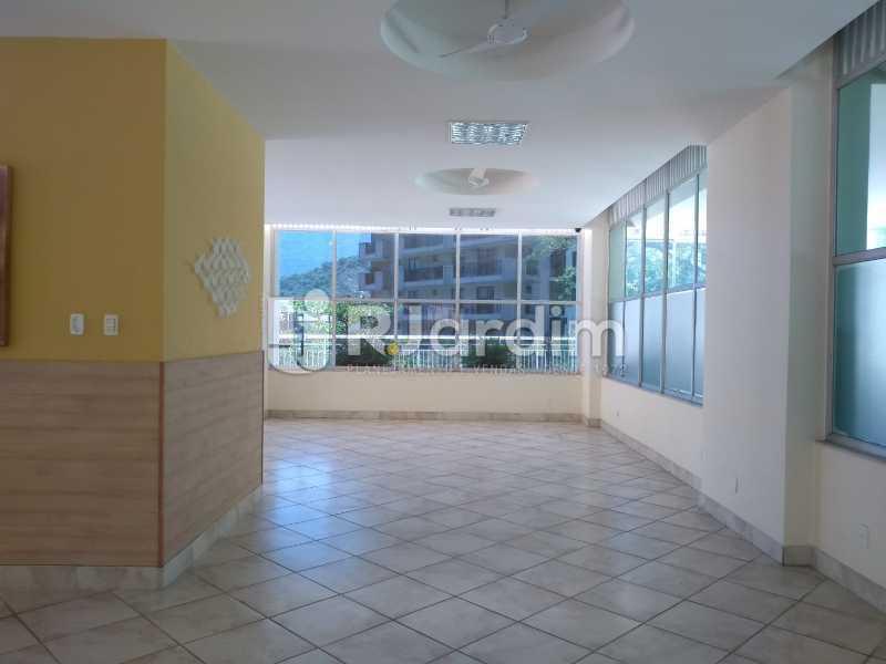 salão de festas  - Apartamento À Venda - Lagoa - Rio de Janeiro - RJ - LAAP31999 - 21