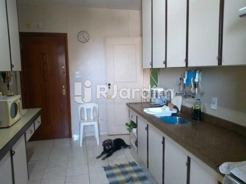 cozinha  - Apartamento À Venda - Lagoa - Rio de Janeiro - RJ - LAAP31999 - 17