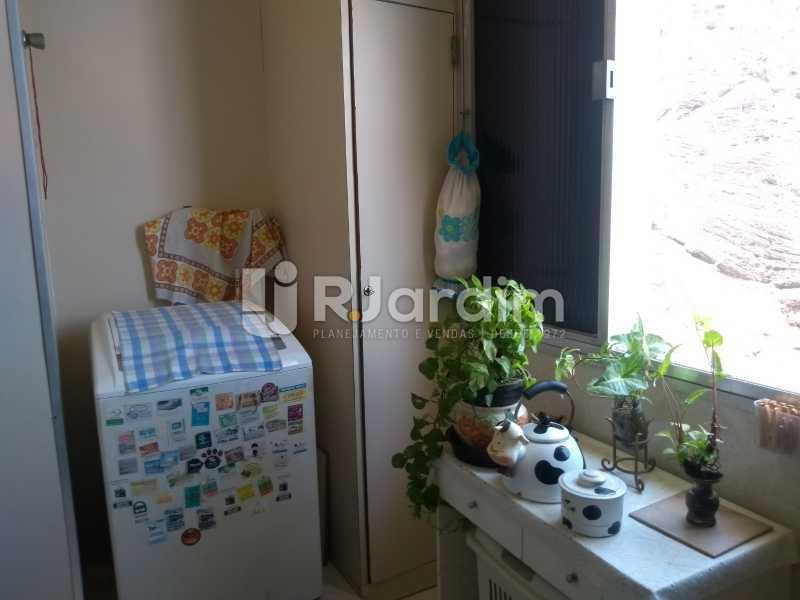 área de serviço  - Apartamento À Venda - Lagoa - Rio de Janeiro - RJ - LAAP31999 - 18