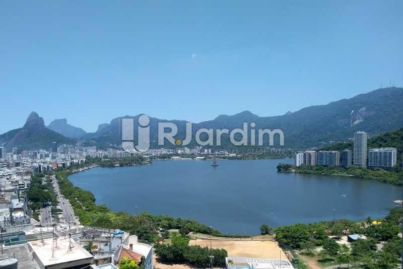 Vista / sala  - Apartamento À Venda - Lagoa - Rio de Janeiro - RJ - LAAP31999 - 1